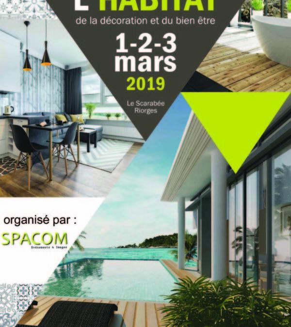 Salon de l'habitat, de la décoration et du bien-être à Roanne (42)